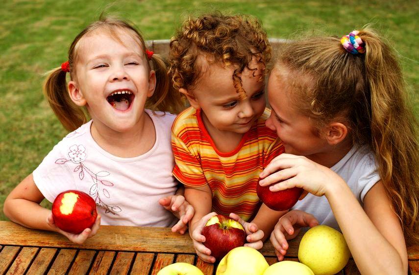 Owoce sezonowe dla dzieci