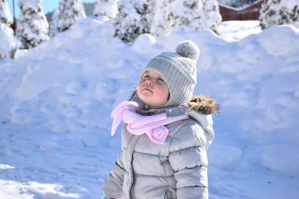 co robić z dzieckiem w zimie